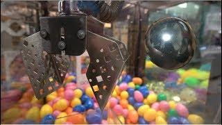 POLISHED FOIL BALL CLAW MACHINE WIN!!!!