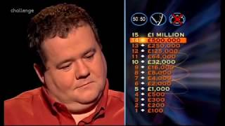Who wants to be a Millionaire (UK version) All winners