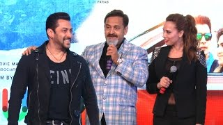 Salman Khan & Girlfriend Iulia Vantur At Mahesh Manjrekar