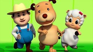 bingo | farmees | nursery rhymes | kids songs | baby videos | 3d rhymes