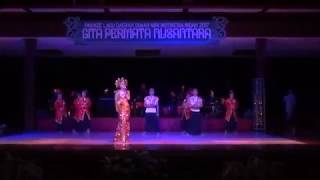 PARADE LAGU DAERAH TMII 2017// GITA PERMATA  NUSANTARA