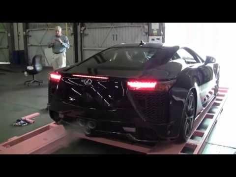 How Lexus Delivers the LFA