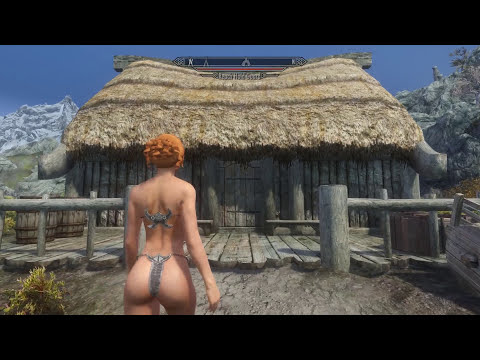 Skyrim Mod Review 100 KINKY SECKS DUNGEON and SLIME ARMOR Series Boobs and Lubes