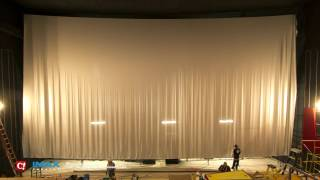 IMAX Screen Installation Timelapse at Celebration! Cinema Crossroads