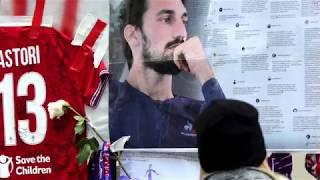 Florencia dice adiós a Davide Astori