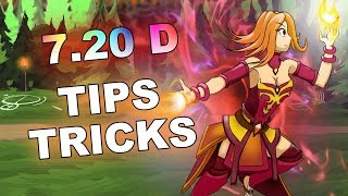 7.20d Dota 2 NEW Tips and Tricks!