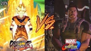 Dragon Ball Fighterz VS Marvel vs Capcom Infinite
