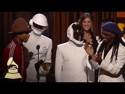 Daft Punk Win Record of the Year GRAMMYs