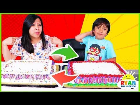 Cake Switch Up Challenge with Twin Telepathy Cake Challenge