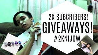 2K SUBSCRIBERS GIVEAWAY! VG from Kyline Alcantara?! | Jonald Helito