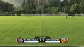 ŽIVĚ: Kayserispor - FC Zbrojovka Brno