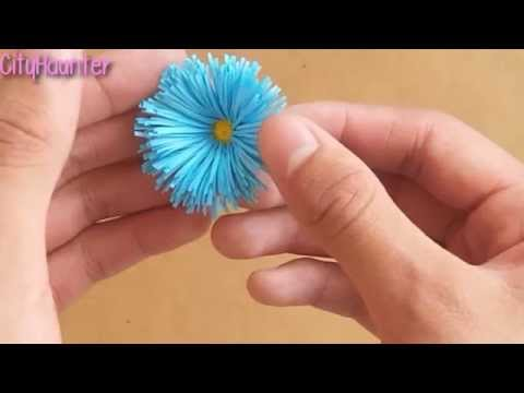 How to make paper flowers VERY EASY Gift decoration