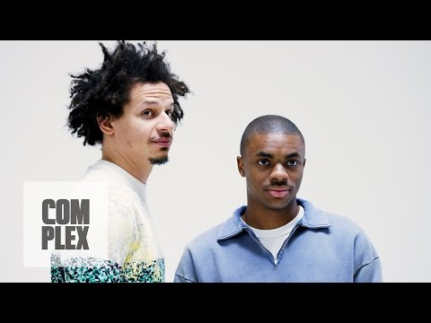 Eric André and Vince Staples Talk Extinction Crack and Dogs Complex