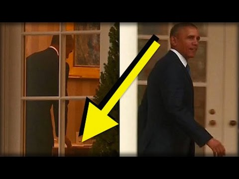 """OBAMA WAS JUST SPOTTED LEAVING SOMETHING """"SPECIAL"""" FOR DONALD TRUMP ON THE WHITE HOUSE DESK"""