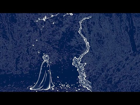 (EP1)蓝草的一生?蓝印花布的一生?还是李子柒花裙子的一生?The life of blue calico dresses hand dyed by Li Ziqi