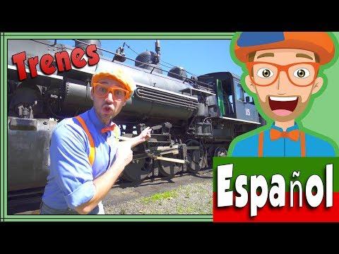 Xxx Mp4 Trenes Infantiles Con Blippi Español Viaje En El Tren A Vapor 3gp Sex