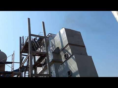 1° Fogo Caldeira Destilaria Vital Angola.