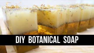 DIY Botanical Soap { For Beginners! } | Royalty Soaps