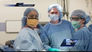 Doctor, nurse work to make changes to cesarean section procedures