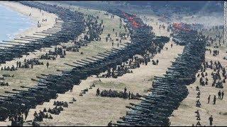 RAW USA South Korea HIGH ALERT Military Drills after North Korea H-Bomb Test September 2017