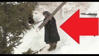 72-Year-Old Woman Lives An Insane Hermit Lifestyle Deep In Siberia