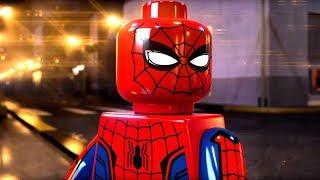 All Spider-Man Scenes - LEGO MARVEL SUPER HEROES 2