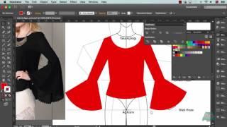 02. Bluz Teknik Çizimi Nasıl Yapılır? - İspanyol Kollu Bluz
