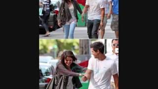 Selena Gomez and Taylor Lautner in Vancouver