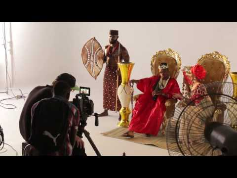Diamond Platnumz ft Rayvanny Salome behind the Scene (part 1)