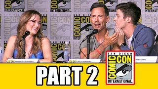 THE FLASH Season 3 Comic Con Panel (Part 2) - Grant Gustin, Candice Patton, Keiynan Lonsdale