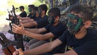 Os meninos soldados da Jihad Islâmica