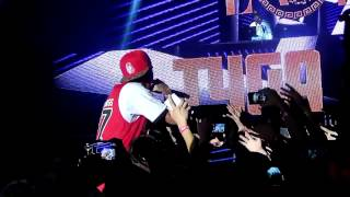 130907 ONE HIPHOP FESTIVAL Tyga - Lap dance+Bed rock