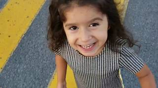 لوك بوك للبنات الصغار للمدرسة، تعرفو على ستيل ابنتي رانيا || LookBook for little girls at school