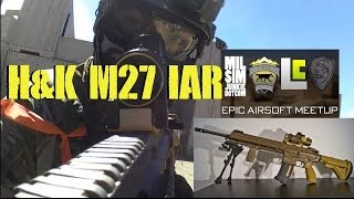 DesertFox Airsoft: H&K M27 IAR Gameplay and Epic Airsoft Meet Up Moments