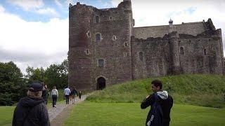EDINBURGH ❘ The Hairy Coo Tour: Scottish Highlands & Doune Castle ❘ Day 4