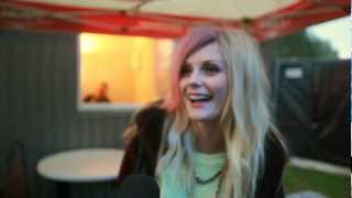 Interview: Mette Lindberg (The Asteroids Galaxy Tour) @ FONOFEST 2012