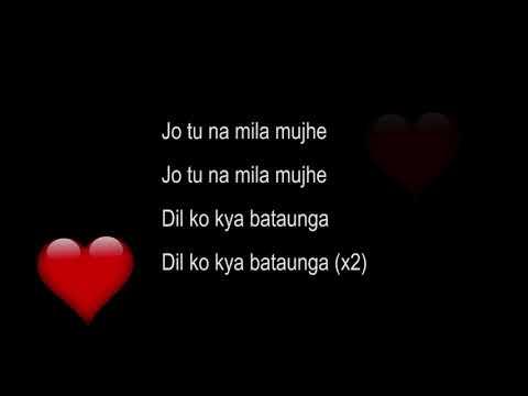 Jo to Na Mila Mjha Song - Asim Azhar - Pakistani Singer - New Song - Urdu Song