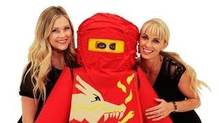 HeyKayli and CarlieStylez Flip Gage into Lego Ninjago
