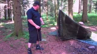 My tarp shelter (Tent)