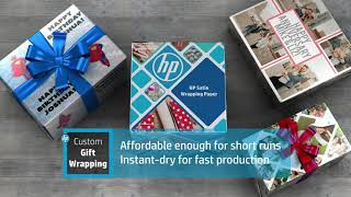 Introducing HP Satin Wrapping Paper (UK)