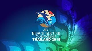 #AFCBeachSoccer Thailand 2019 - M25 - QF4 - Palestine vs. Lebanon