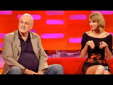 JOHN CLEESE Insults TAYLOR SWIFT s Cat Olivia Benson The Graham Norton Show on BBC AMERICA