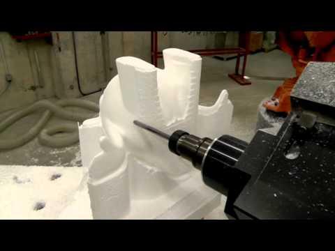 Mecanizado de escultura
