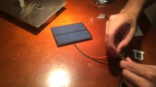 Senior Project - Salt Water Battery and Solar Panel