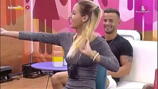 Tozé em «brasa» com dança de Margarida