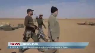 Hashed Shabi wins control of the major supply route that links Mosul to Syria #Mosul