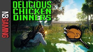 A Most Delicious Chicken Dinner - Winning in PlayerUnknown
