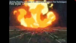 Almost All FIRE STYLE jutsu-Naruto (With Handseal)