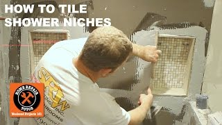 Tiling a Shower Niche (Step-by-Step) -- by Home Repair Tutor