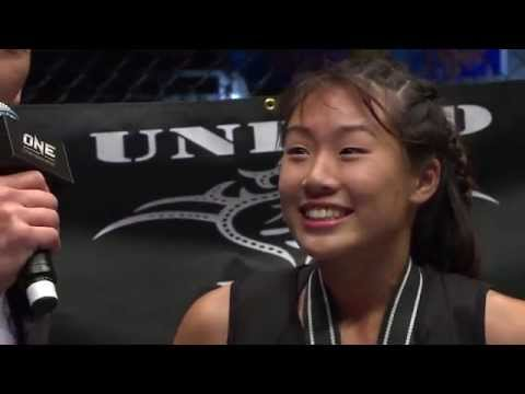 FULL FIGHT UNLOCKED: Angela Lee vs Aya Saber
